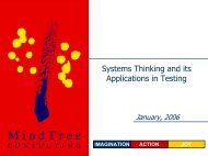 Applications in Testing