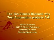 Top Ten Classic Reasons why Test Automation projects Fail