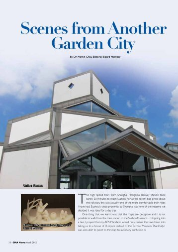 Scenes from Another Garden City - SMA News