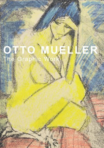 Otto Mueller - The Graphic Work - bei Galerie Ritthaler