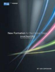 Annual Report 2010 - NTT Data