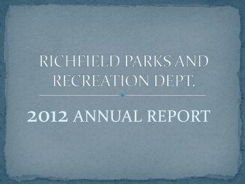 Annual Report - Village of Richfield