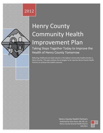 Henry County Community Health Improvement Plan