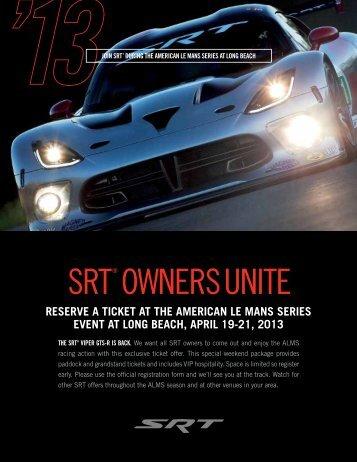 SRT®Owners Unite