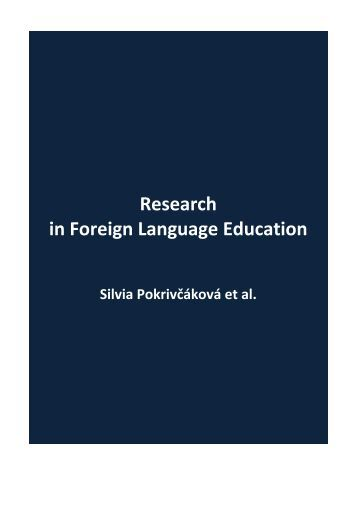 Research in Foreign Language Education