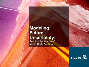 Modeling Future Uncertainty