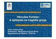 Hércules Furioso A epilepsia na tragédia grega