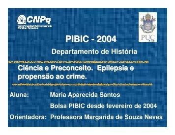 PIBIC - 2004