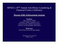Recent AML Enforcement Actions - Events