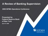A Review of Banking Supervision