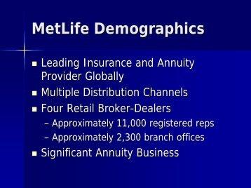 MetLife Demographics