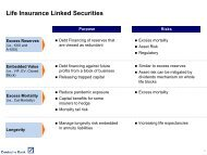 Life Insurance Linked Securities