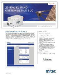 25-40w Ku-band one-box-deSiGn buc