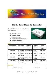 2W Ku-Band Block Up-Converter