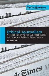 Ethical Journalism