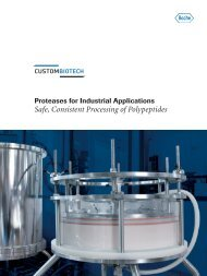 Safe Consistent Processing of Polypeptides