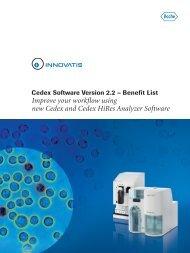 Improve your workflow using new Cedex and Cedex HiRes Analyzer Software