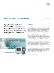 Highly Sensitive and Robust Automated DNA Extraction from ...