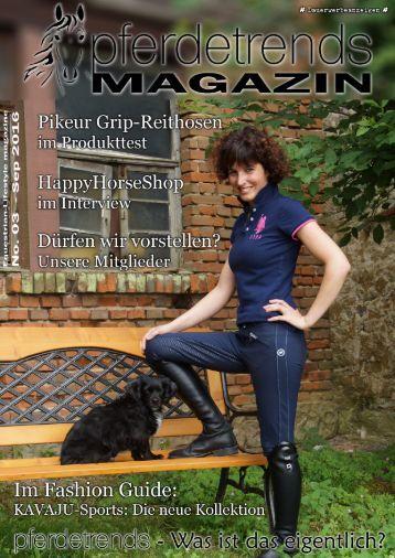 pferdetrendsMagazin No. 03 - Aug/Sep 2015