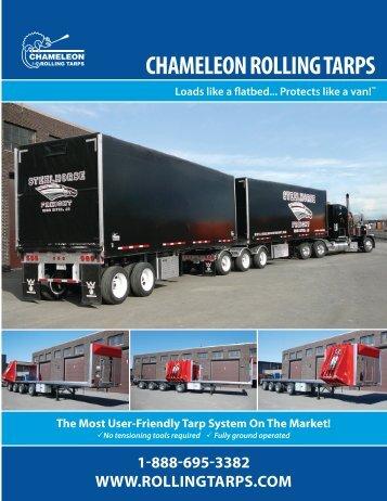 Chameleon Rolling Tarps