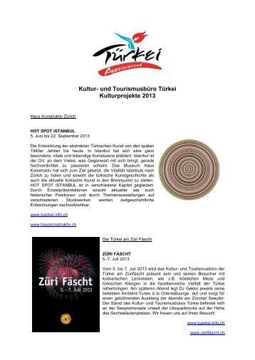 Kulturprojekte 2013