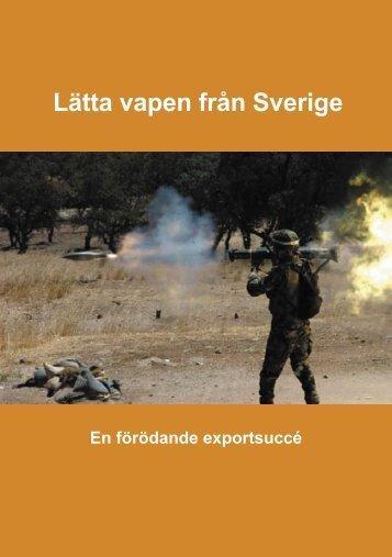 Lätta vapen från Sverige