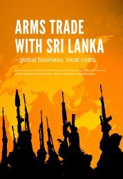ARMS TRADE WITH SRI LANKA