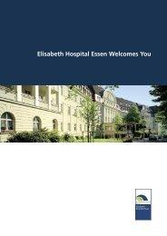 Elisabeth Hospital Essen Welcomes You