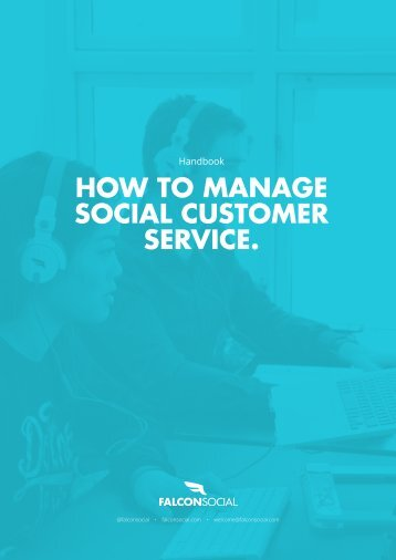 HOW TO MANAGE SOCIAL CUSTOMER SERVICE