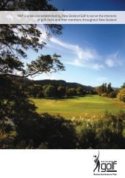 MAP is a service established by New Zealand Golf to serve