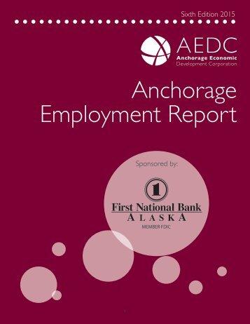 Anchorage Employment Report