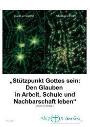 """""""Stützpunkt Gottes sein: Den Glauben in Arbeit ... - FeG Elberfeld"""