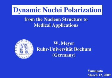 Dynamic Nuclei Polarization