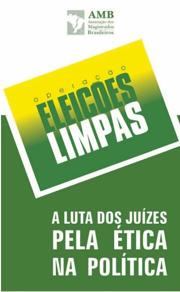 Formula AMB cartilha_verde.pmd - A Voz do Cidadão