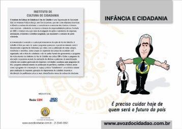 panfleto VC cidadania e infancia_sem_logo.cdr - A Voz do Cidadão