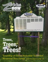 Township of Zorra Memorial Trees and Memorial Tree Forest