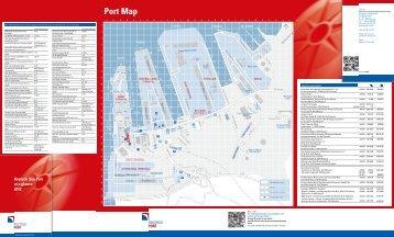Port Map - Rostock Port