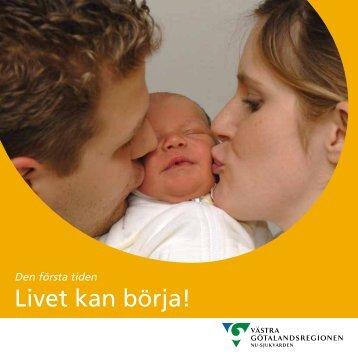 Livet kan börja!