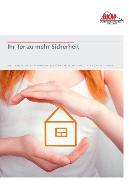 BKM-Broschüre 2015 - Brandschutzkonstruktionen Mihla GmbH
