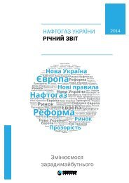 Naftogaz Annual Report 2014