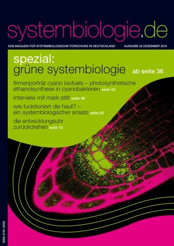 Berlin Institute for Medical Systems Biology - Systembiologie