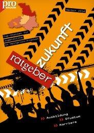 Ratgeber Zukunft (Herbst 2014)