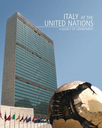 ITALY UNITED NATIONS
