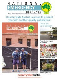 National Emergency Response Published By Countrywide Austral