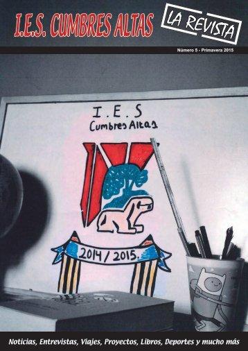 Revista IES Cumbres Altas 2015