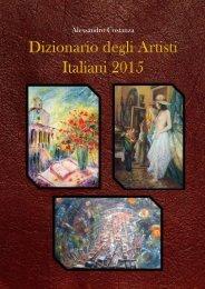 Cover Dizionario degli Artisti Italiani 2015