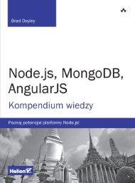 Node.js, MongoDB, AngularJS. Kompendium wiedzy - Helion