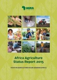 Africa Agriculture Status Report 2015