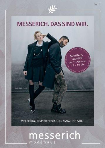 Saisonstart Magazin Herbst/Winter 2015