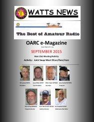 OARC e-Magazine